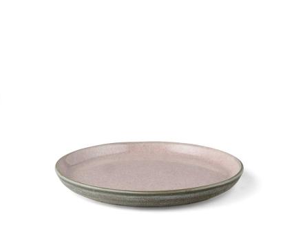 Bitz Gastro Tallerken Dia. 21 x 2,0 cm grå/rosa