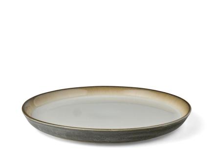 Bitz Gastro Tallerken Dia. 27 x 2,5 cm grå/kremfarget