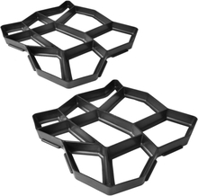 vidaXL Form för gångväg 42 x 42 x 4 cm Set of 2