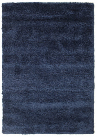 Shaggy Sadeh - Blå matta 140x200 Modern Matta