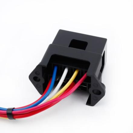 KKmoon 12 Weg DC32V Circuit Car Trailer Auto Blade Fuse Box Block Halter ATC ATO 2 Eing/ängen 12-Ouput Draht