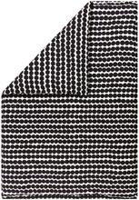 Räsymatto pussilakana 210x150 cm Musta-valkoinen