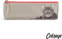 Catseye London Etching Cat Long Bag