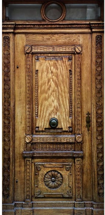 Scandinavian Artstore Dörrtapet - Medieval Entrance - 100x210 cm