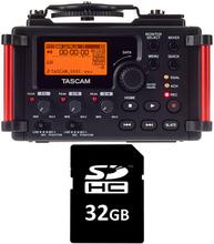 Tascam DR-60D MkII Card Bundle