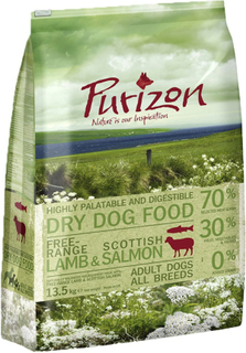 Purizon Adult Lam & Laks - Økonomipakke: 2 x 12 kg