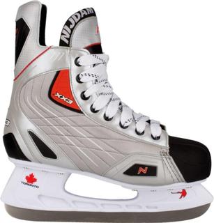Nijdam Hockeyskridskor Strl. 46 Polyester 3385-zzr-46 Silver