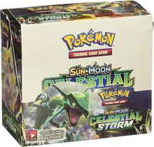 324pcs/box Pokemon Cards TCG: Sun & Moon Celestial Storm 36-Pack Booster Box Trading Card Game Kids Toys