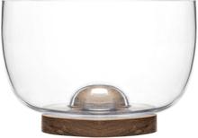 Sagaform Oval oak skål 22 cm