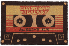 Guardians Of The Galaxy - 2 - Awesome Mix Vol.2 -Dørmatte - flerfarget