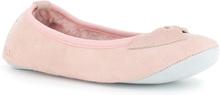 Axelda Fårskinnstofflor Ballerina Bari Pink