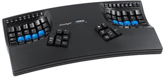 Kinesis Advantage2 Tangentbord, US-version, Qwe/Dv