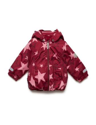 Jacket Althea With Detachable Hood Allover