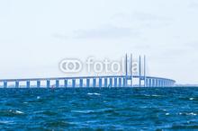 Öresundsbron i blåton
