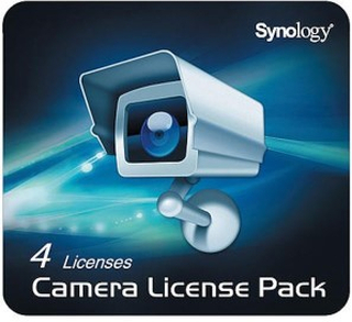 Synology Surveillance Station 4 kameralisenser