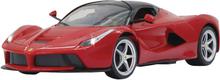 Radio-Ohjattava Auto Ferrari LaFerrari RTR / Varustettu Valoilla 1:14 Punainen