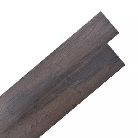 vidaXL selvklæbende PVC-gulvplanker 5,02 m² egetræ mørkegrå