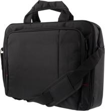 """DELTACO kannettavan tietokoneen kantolaukku, 15,6"""", polyesteriä, musta"""