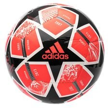 adidas Fotball Champions League Finale 2021 Club - Rød/Sort/Hvit