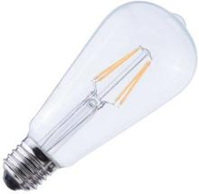Edison lamp LED filament helder 2,0W (vervangt 25W) grote fitting E27