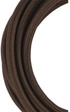 Bailey stoffen kabel 2-aderig bruin 3m
