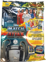 Fotbollsbilder Fotbollskort - Startpaket 2017-18 Topps Match Attax Champions League (International Edition)