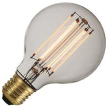 Globelamp LED filament helder deco 3W (vervangt 30W) grote fitting E27 80mm