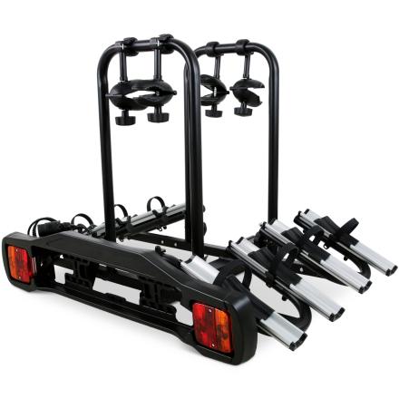 Cykelhållare med lyse - 4 cyklar