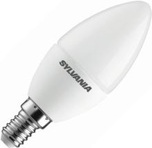 Sylvania   LED Kaarslamp   Kleine fitting E14   4W (vervangt 25W) Mat
