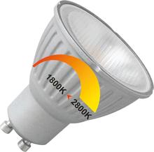 Megaman LED spot 230V Dim to Warm 6W (vervangt 50W) GU10 50mm