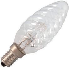 Halogeen EcoClassic Kaarslamp Gedraaid   Kleine fitting E14 Dimbaar   28W