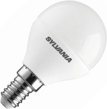 Sylvania   LED Kogellamp   Kleine fitting E14   4W (vervangt 25W) Mat
