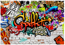 Scandinavian Artstore Fototapet - Colorful Graffiti - 100x70 cm