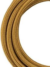 Bailey stoffen kabel 2-aderig metallic goud 3m