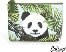 Catseye London Panda in Palms Pouch