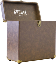 Groove Sound Record Case Carrier (Brown)