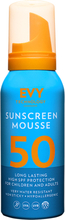 EVY Sunscreen Mousse 50 High SPF, 100ml EVY Technology Solskydd