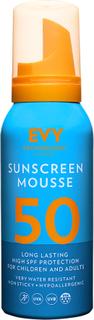 EVY Sunscreen Mousse 50 High SPF, 100 ml EVY Technology Solskydd & Solkräm