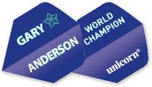 Unicorn Authentic Gary Anderson Blå Flights