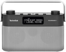 Bærbar radio TechniRadio 8 - Stereo - Grå
