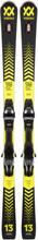 Völkl Racetiger SC + vMotion 11 Unisex Slalomskidor Svart 160