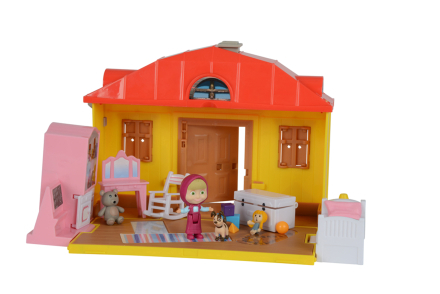 Masha and The Bear - Masha House Playset