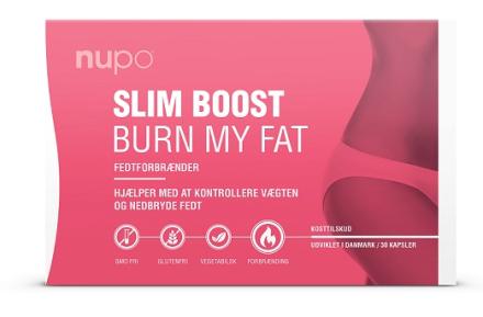 Nupo Slim Boost - Burn My Fat, 30kaps.