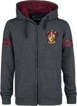 Harry Potter - Gryffindor Sport -Hettejakke - grå, bordeaux
