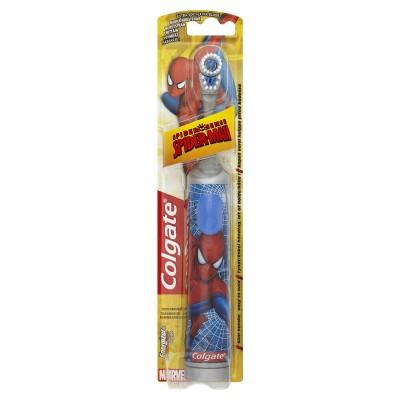 Colgate Battery Spiderman Hammasharja extra pehmeä 1 kpl