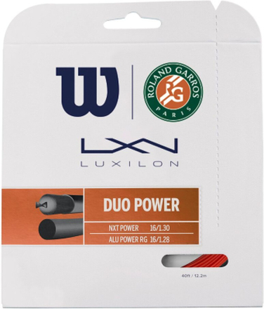 Wilson Duo Power Roland Garros Saitenset 12,2m 1.30