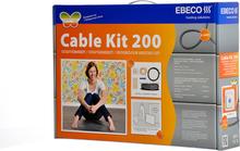 Ebeco Golvvärme Cable Kit 200 (650W) 58 m, 5.7 - 7.3 m²