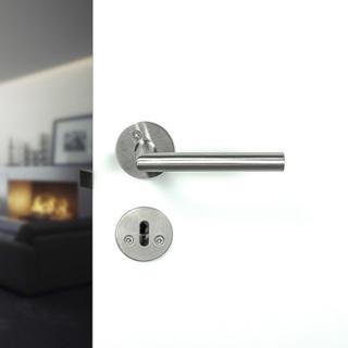 Beslag Design Dörrhandtag Kastrup 04 Rostfritt