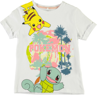 T-shirt Pokemon Gitte, Bright white, Name it