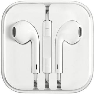 Headset Earpods för iPhone med volymkontroll - Vit
